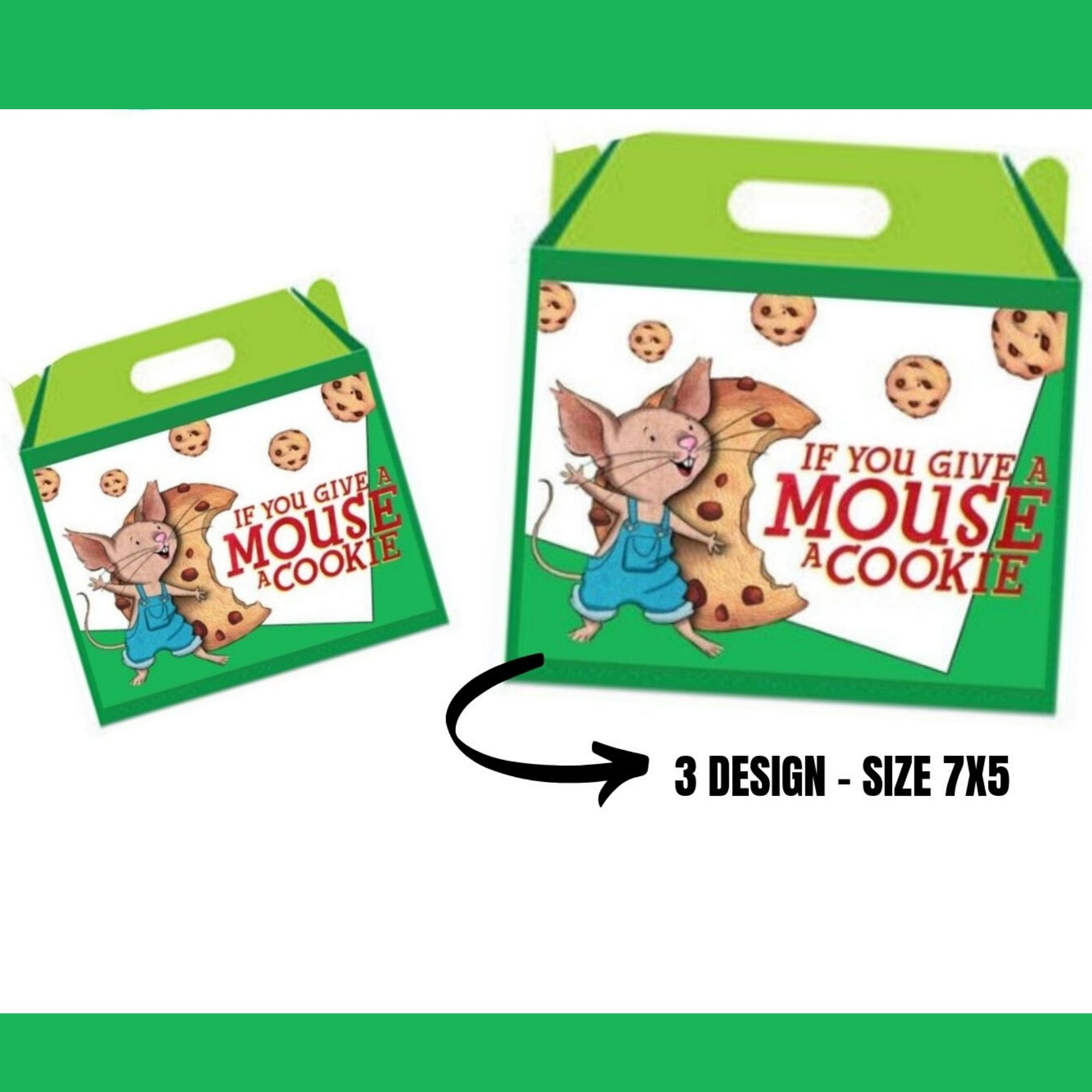 If you give a Mouse a Cookie Birthday Party Package Printable