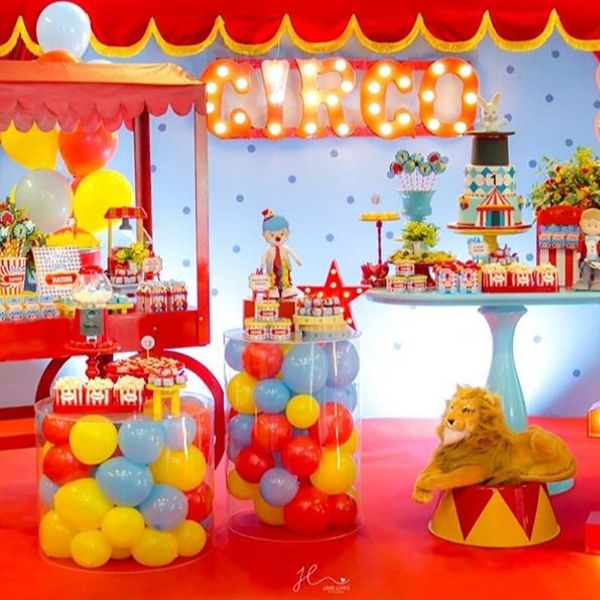 Circus Theme Birthday Party