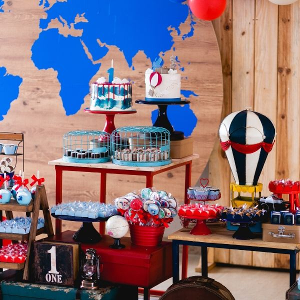 Around the World Birthday Party