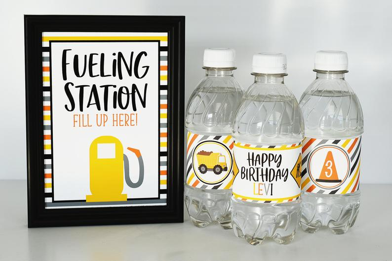 Amazing Construction Party Printable that will make your Party a Success!